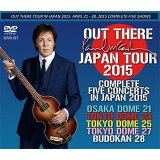 PAUL McCARTNEY / OUT THERE JAPAN TOUR 2015 COMPLETE FIVE CONCERTS 【5DVD】