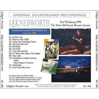 画像2: PAUL McCARTNEY / KNEBWORTH 1990 【1CD】