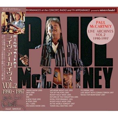 画像1: PAUL McCARTNEY / LIVE ARCHIVES VOL.2 【2CD】