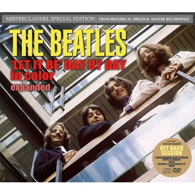 画像1: THE BEATLES / ' LET IT BE ' DAY BY DAY in color expanded 【3CD+2DVD】