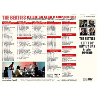 画像2: THE BEATLES / ' LET IT BE ' DAY BY DAY in color expanded 【3CD+2DVD】