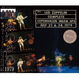 LED ZEPPELIN / COMPLETE COPENHAGEN WARM UPS 1979 【4CD】