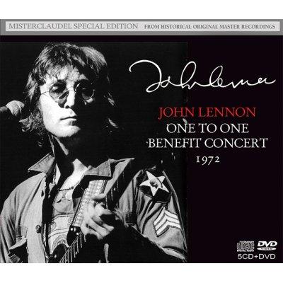 画像1: JOHN LENNON / ONE TO ONE BENEFIT CONCERT 1972 【5CD+DVD】