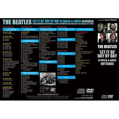 画像2: THE BEATLES / ' LET IT BE ' DAY BY DAY in black & white outtakes 【3CD+2DVD】