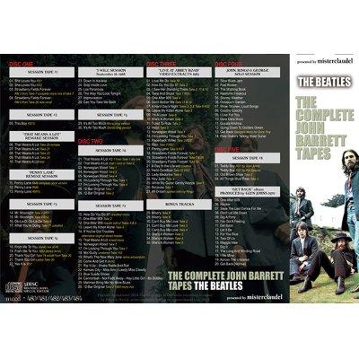 画像2: THE BEATLES / COMPLETE JOHN BARRETT TAPES 【5CD】