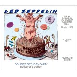 LED ZEPPELIN / BONZO'S BIRTHDAY PARTY collector's edition 【5CD】