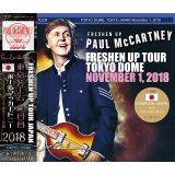 FRESHEN UP TOKYO DOME November 1, 2018 【3CD】