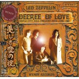 A DECREE OF LOVE 【2CD】