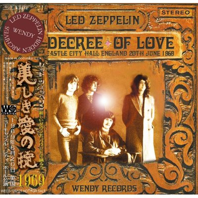 画像1: LED ZEPPELIN / A DECREE OF LOVE 【2CD】