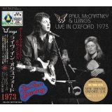 PAUL McCARTNEY / LIVE IN OXFORD 1973 【CD】