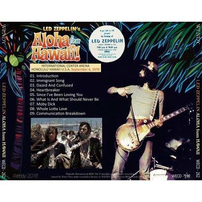 画像2: LED ZEPPELIN / ALOHA FROM HAWAII 1970 【1CD】