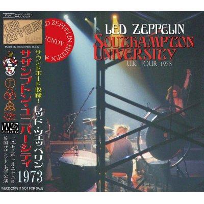 画像1: LED ZEPPELIN / SOUTHAMPTON UNIVERSITY 【2CD】