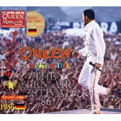 画像1: QUEEN / THE OPEN AIR FESTIVAL 1986 【2CD】