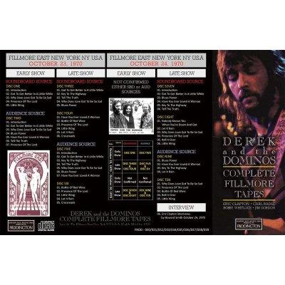 画像2: DEREK & THE DOMINOS / COMPLETE FILLMORE TAPES 【10CD】