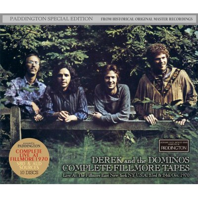 画像1: DEREK & THE DOMINOS / COMPLETE FILLMORE TAPES 【10CD】