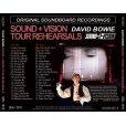画像2: DAVID BOWIE / SOUND + VISION TOUR REHEARSALS 【2CD】 (2)