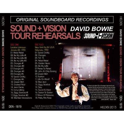 画像2: DAVID BOWIE / SOUND + VISION TOUR REHEARSALS 【2CD】