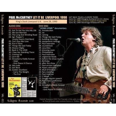 画像2: PAUL McCARTNEY / LET IT BE LIVERPOOL 1990 【CD+DVD】