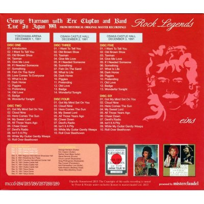 画像2: GEORGE HARRISON / ROCK LEGENDS eins 【6CD】