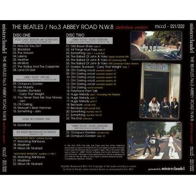 画像2: THE BEATLES / NO.3 ABBEY ROAD N.W.8 【2CD】