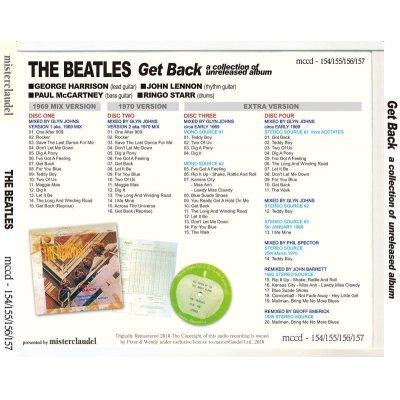 画像2: THE BEATLES / GET BACK a collection of unreleased album 【4CD+BOOKLET】