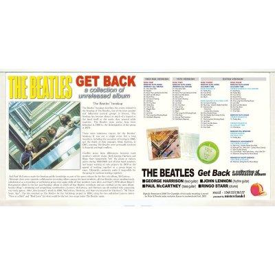 画像3: THE BEATLES / GET BACK a collection of unreleased album 【4CD+BOOKLET】