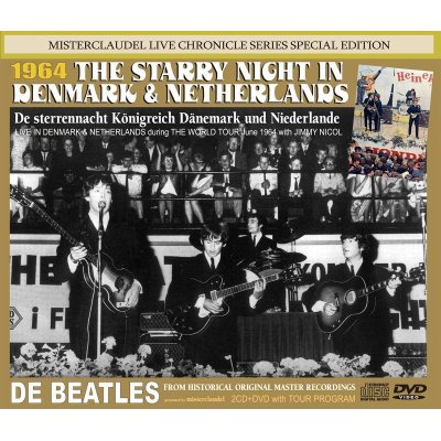 画像1: THE BEATLES / STARRY NIGHT IN DENMARK & THE NETHERLANDS 【2CD+DVD】