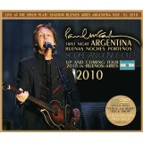 PAUL McCARTNEY / FIRST NIGHT ARGENTINA 2010 【2CD+DVD】