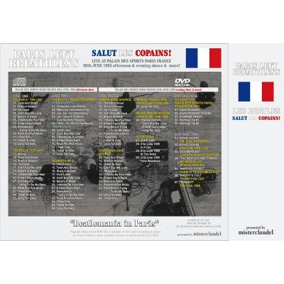 画像2: THE BEATLES / PARIS LEFT BREATHLESS 【3CD+2DVD】