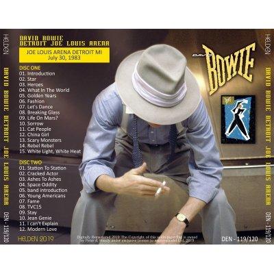 画像2: DAVID BOWIE / DETROIT JOE LOUIS ARENA 1983 【2CD】