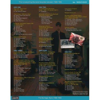 画像2: OASIS / THE BURNAGE YEARS 1988-1993 【5CD】