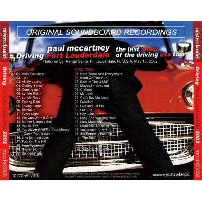 画像2: PAUL McCARTNEY / DRIVING FORT LAUDERDALE 【2CD】