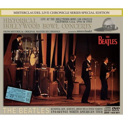 画像1: THE BEATLES / HISTORICAL HOLLYWOOD BOWL CONCERTS 【2DVD+6CD】