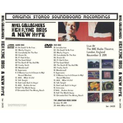 画像2: NOEL GALLAGHER 2011 A NEW HOPE CD+DVD