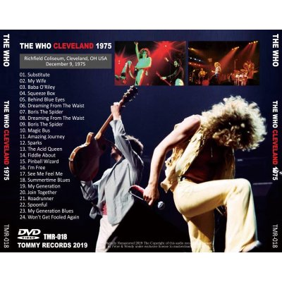 画像2: THE WHO / CLEVELAND 1975 【DVD】