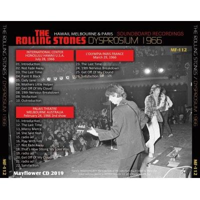 画像2: THE ROLLING STONES / DYSORISIUM 1966 【CD】