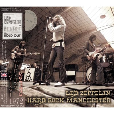 画像1: LED ZEPPELIN / HARD ROCK MANCHESTER 1972 【2CD】