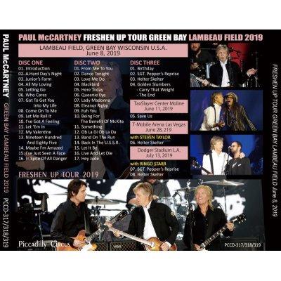 画像2: PAUL McCARTNEY / FRESHEN UP TOUR GREEN BAY LAMBEAU FIELD 2019 【3CD】