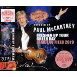 PAUL McCARTNEY / FRESHEN UP TOUR GREEN BAY LAMBEAU FIELD 2019 【3CD】