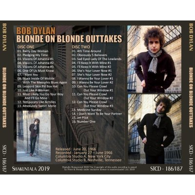 画像2: BOB DYLAN / BLONDE ON BLONDE OUTTAKES 【2CD】