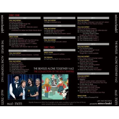 画像2: THE BEATLES / ALONE TOGETHER Vol.2 【2CD】