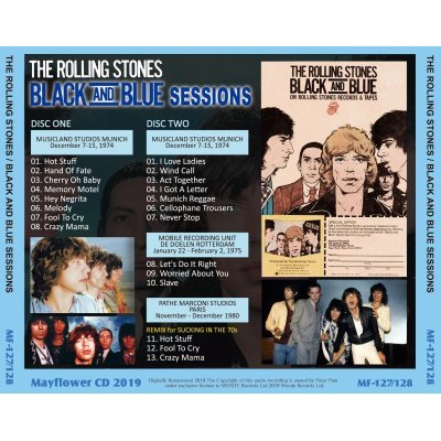 画像2: THE ROLLING STONES BLACK AND BLUE SESSIONS 【2CD】