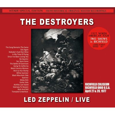 画像1: LED ZEPPELIN / THE DESTROYERS 1977 【6CD】