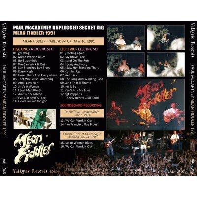 画像2: PAUL McCARTNEY 1991 MEAN FIDDLER 2CD