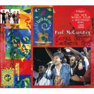 画像1: PAUL McCARTNEY / EARTH DAY CONCERT 1993 CD