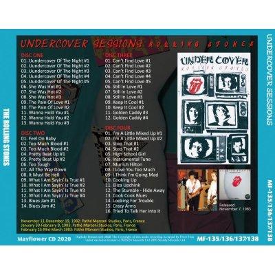 画像2: THE ROLLING STONES UNDERCOVER SESSIONS 4CD
