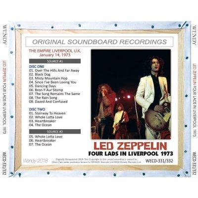 画像2: LED ZEPPELIN 1973 FOUR LADS IN LIVERPOOL 2CD