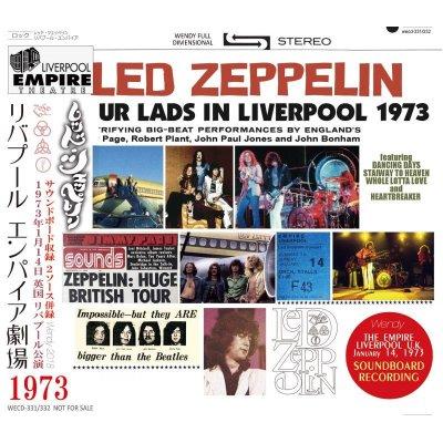 画像1: LED ZEPPELIN 1973 FOUR LADS IN LIVERPOOL 2CD