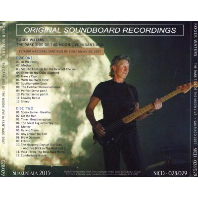 画像2: ROGER WATERS 2007 LIVE IN SANTIAGO 2CD