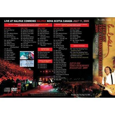 画像2: PAUL McCARTNEY 2009 LIVE ON THE COMMONS HALIFAX 3CD+2DVD